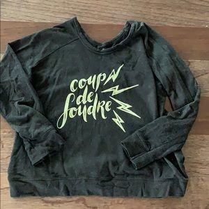 Rare Oiselle sweatshirt - super soft - worn once!